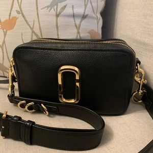 The Marc Jacobs The Softshot Leather Camera Bag